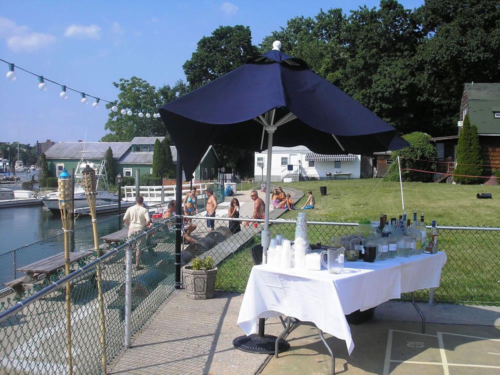 Yacht Club pool and patio lounge