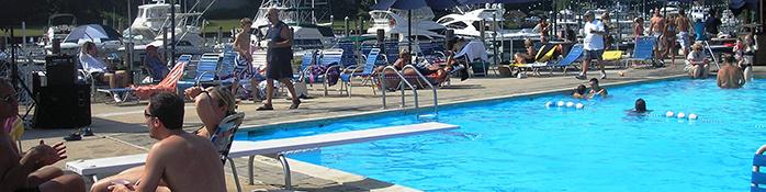 pool at castaways yacht club