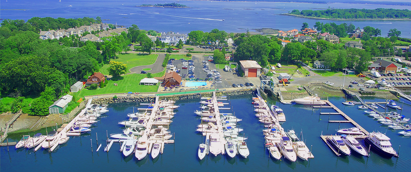 Aerial photo of Yacht Club