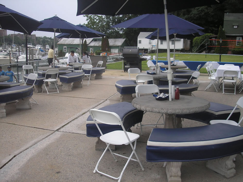 Yacht Club pool and patio lounge