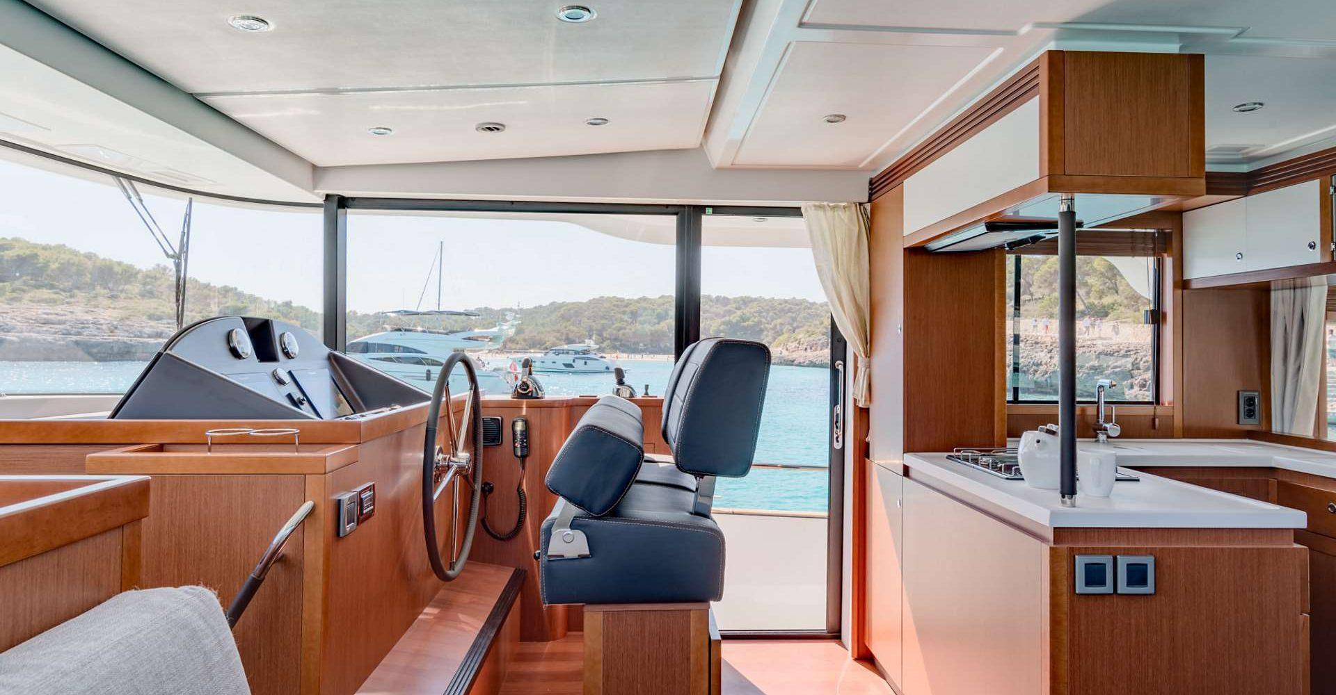 Inside Swift Trawler 50